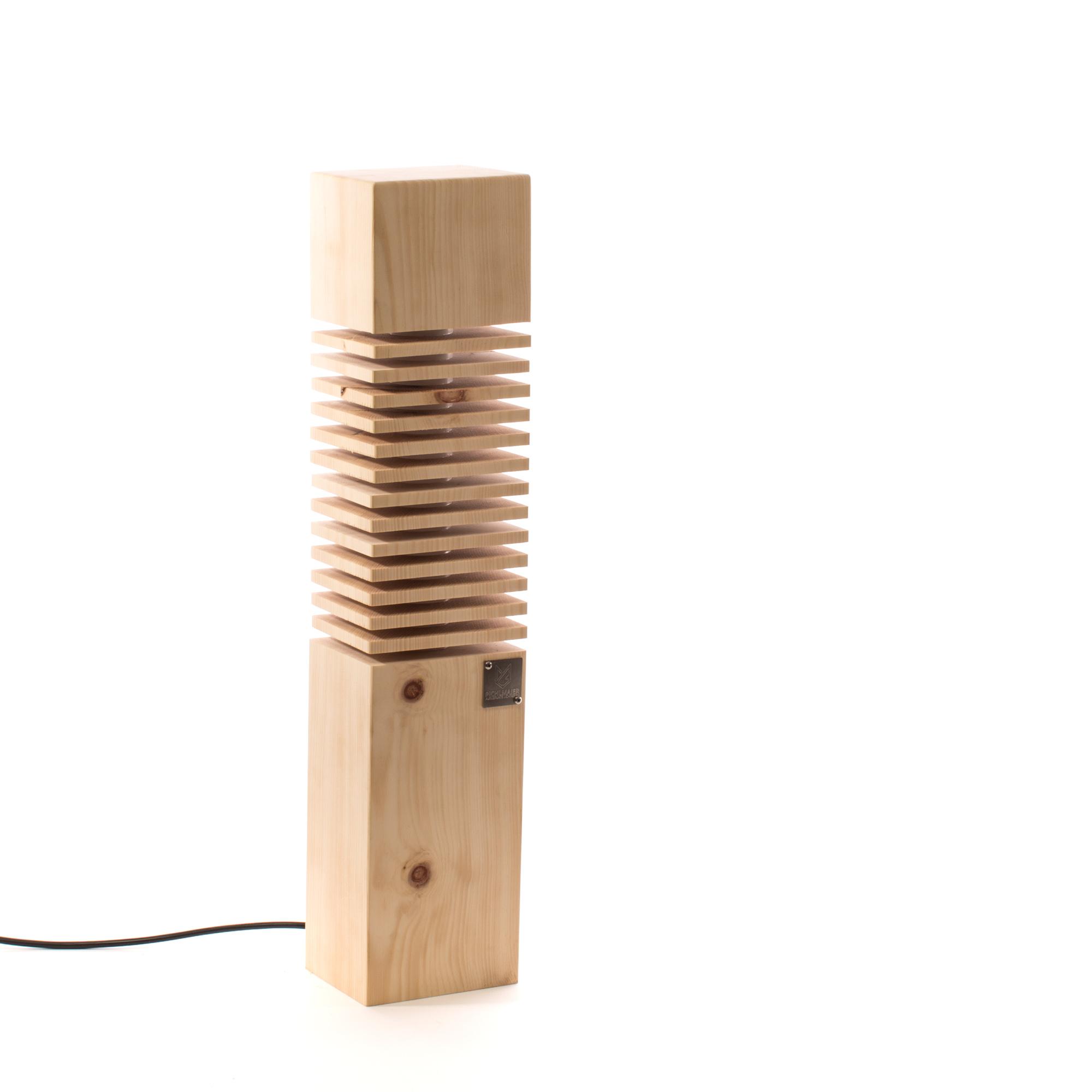 zirbe klein pichlmaier lampen onlinestore f r led lampen aus holz. Black Bedroom Furniture Sets. Home Design Ideas